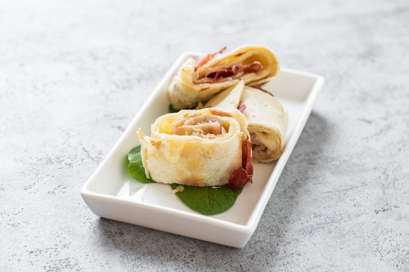 Piadina roll in 10 minuti